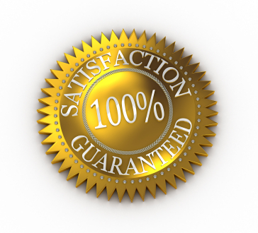 100% Satisfaction Guarante